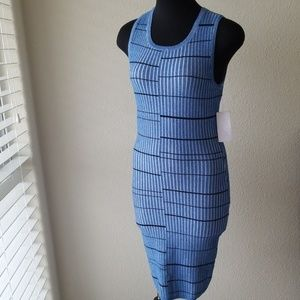 Guess Blue Bodycon Dress
